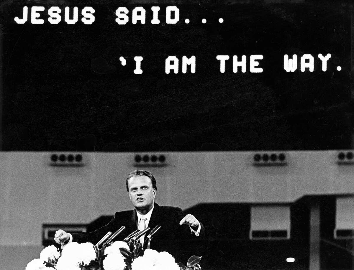Nov. 19, 1965: Billy Graham begins a crusade that draws 376,419 to the Dome.