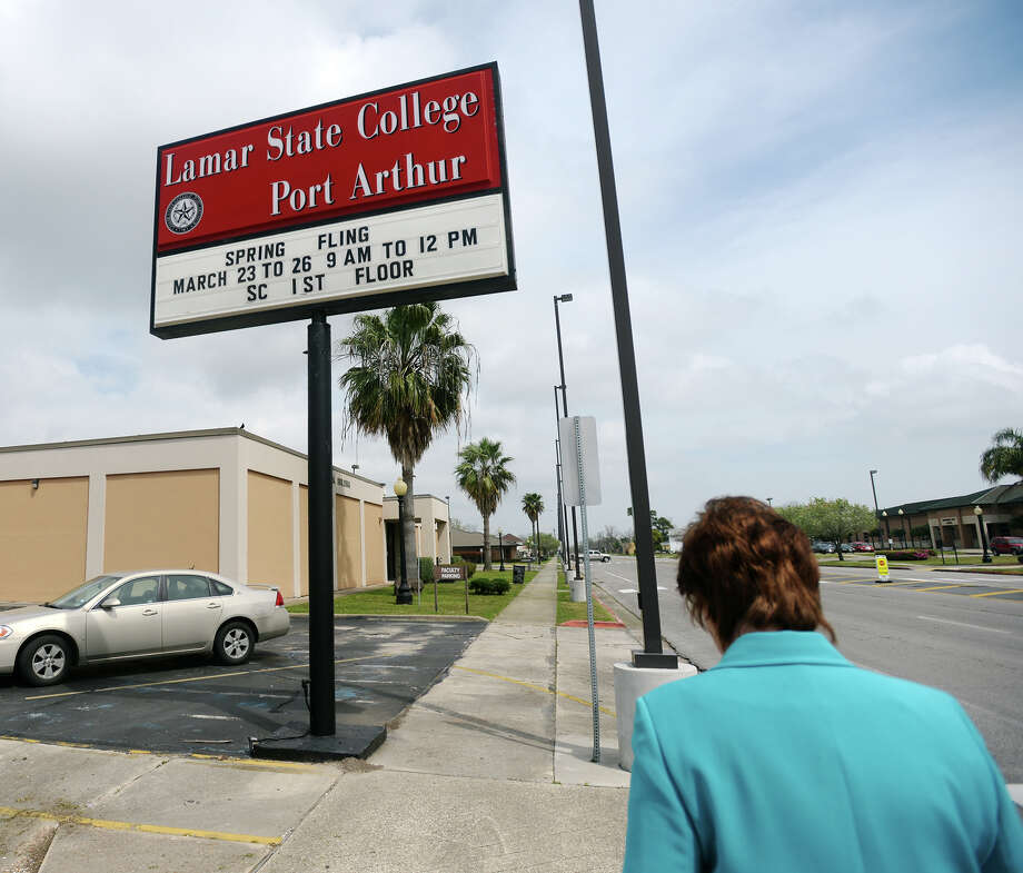 Lamar State College-Port Arthur is the only local college participating and among 13 in Texas and 68 across the U.S. for a federal pilot program to offer Pell grants to inmates. Photo: Jake Daniels / ©2015 The Beaumont Enterprise/Jake Daniels