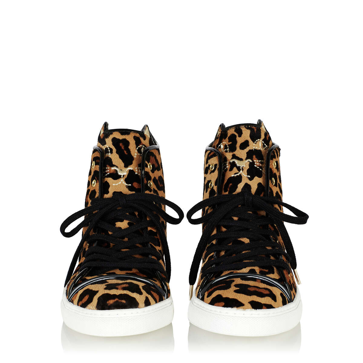 Charlotte Olympia's new sneaker collection includes the Purrrfect High-Tops.