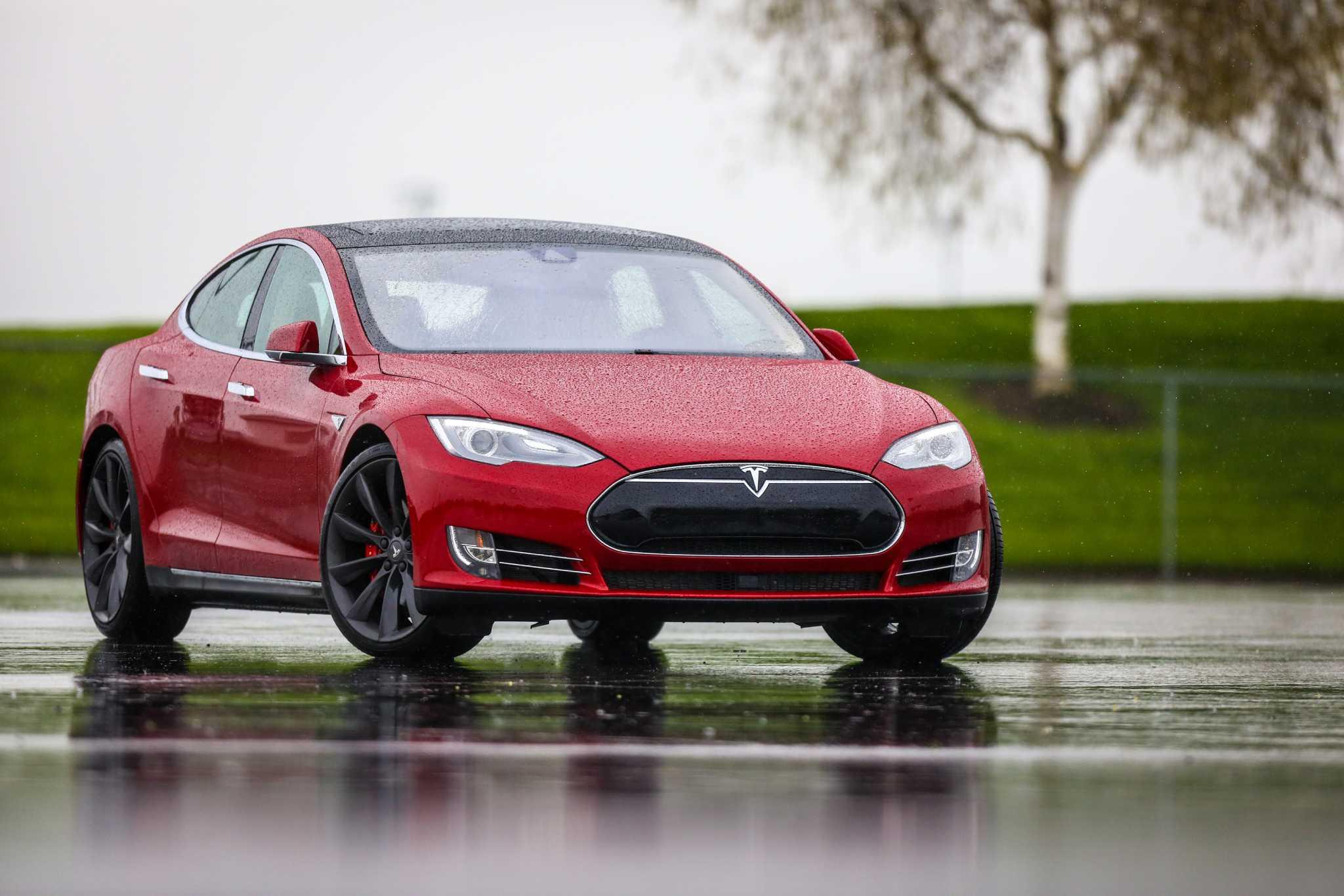 39 Insane 39 Dual Motor Tesla Model S On Closed Course