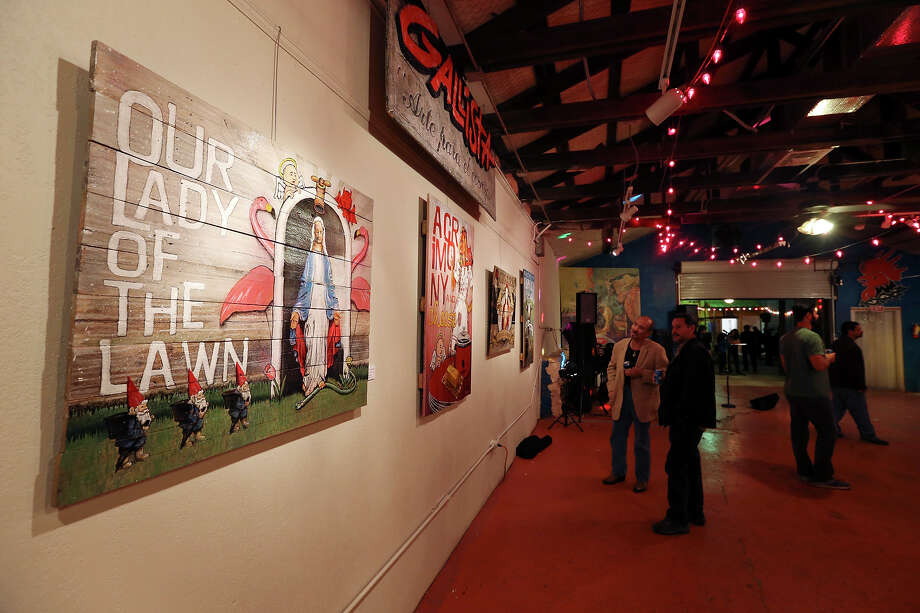 Second Saturdays has drawn visitors to Gallista Gallery, an anchor in the South Flores Arts District. Joe Lopez, 70, sold the complex to musician and cook Sergio Martinez. Photo: Express-News File Photo / © 2013 San Antonio Express-News