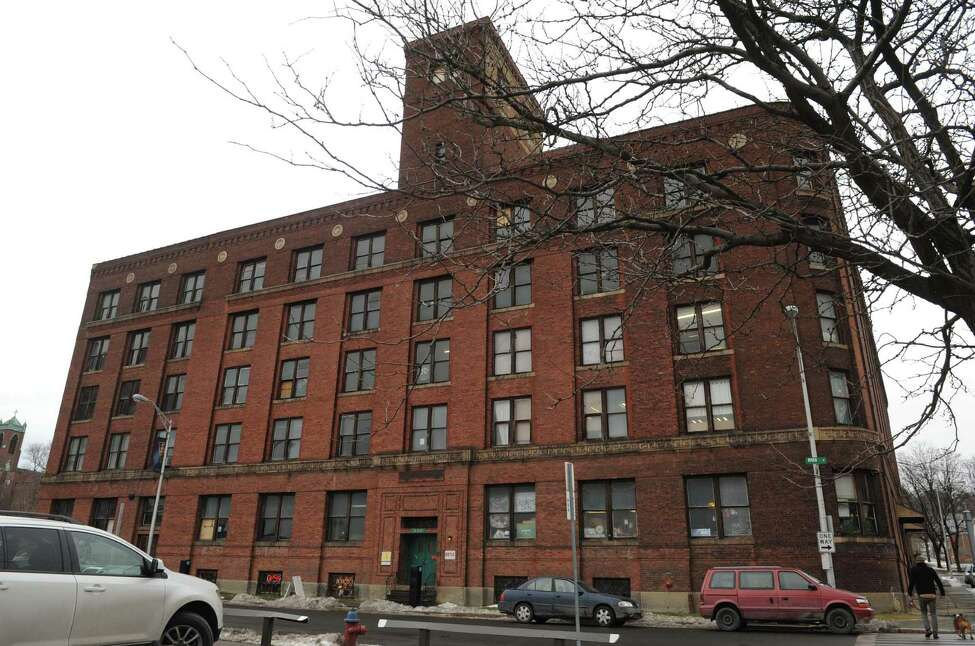 The Marvin Neitzel building, formerly Troy Waste Manufacturing Co., at River and King Streets Friday Jan. 11, 2013 in Troy, N.Y. (Michael P. Farrell/Times Union)