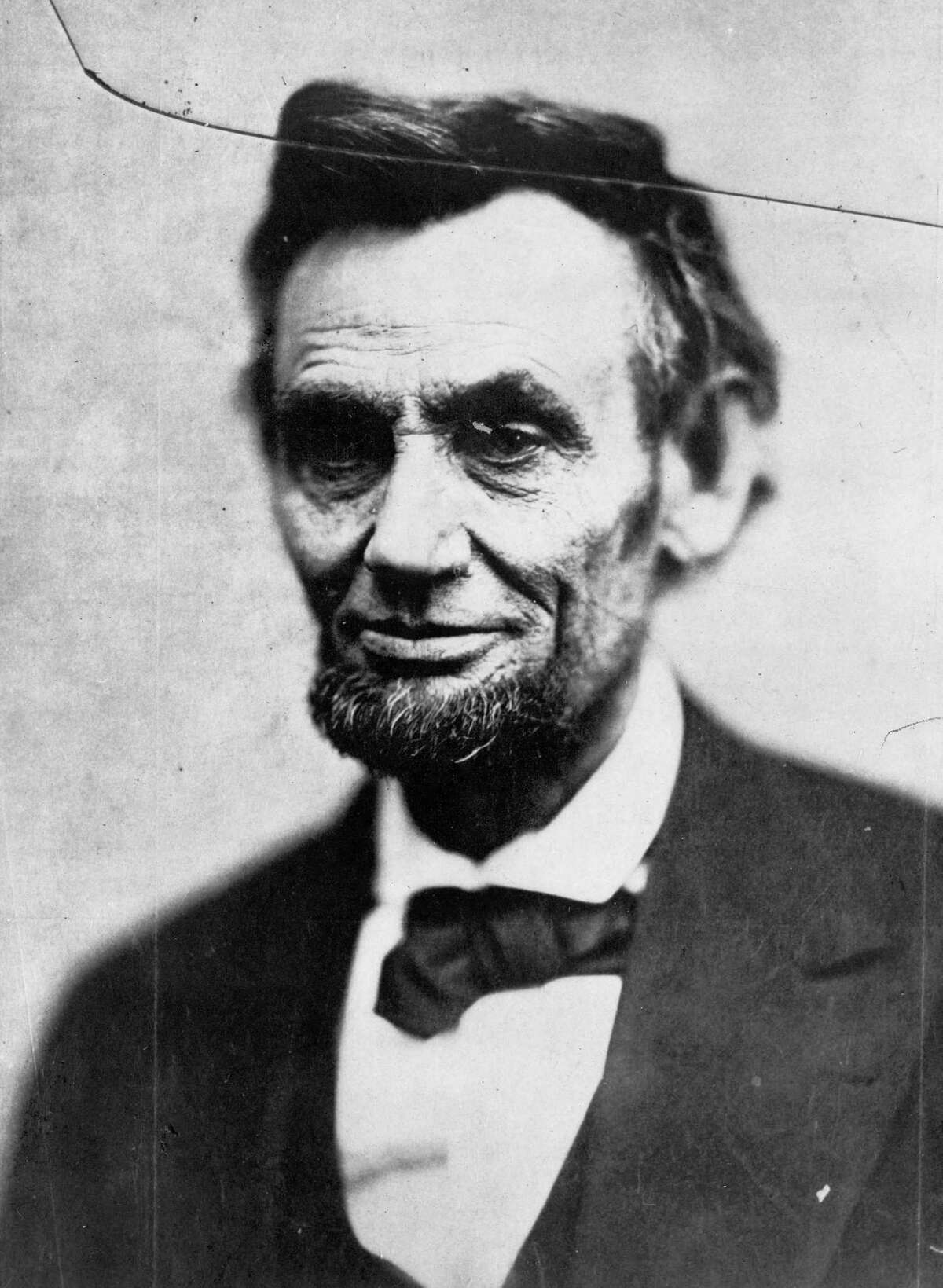 Rubber-band man Abraham Lincoln was, as a young man, an ace wrestler. He is in the Wrestling Hall of Fame.