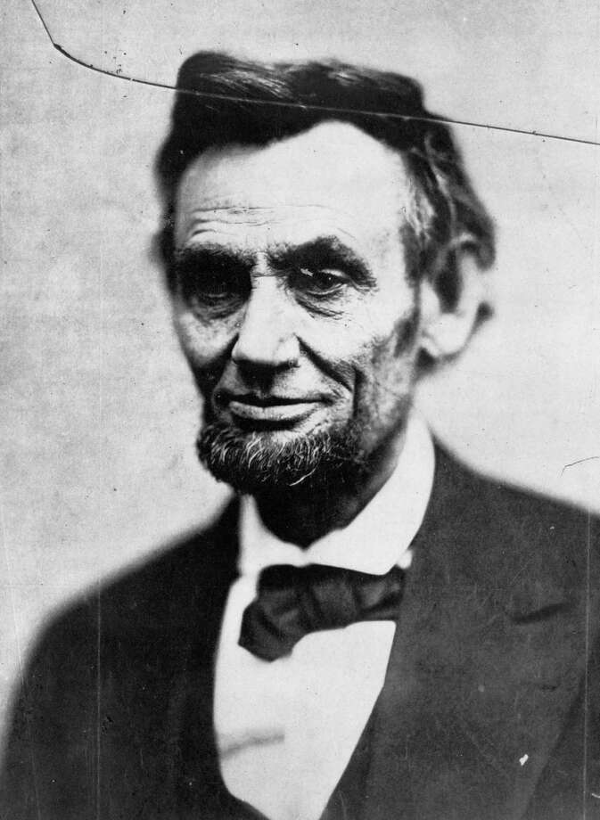 This Sunday, Feb. 5, 1865 photo made available by the Library of Congress shows President Abraham Lincoln in Washington. This image is last photo in the president's last photo session during his life. (AP Photo/Library of Congress, Alexander Gardner) Photo: Alexander Gardner, HOPD / Library of Congress