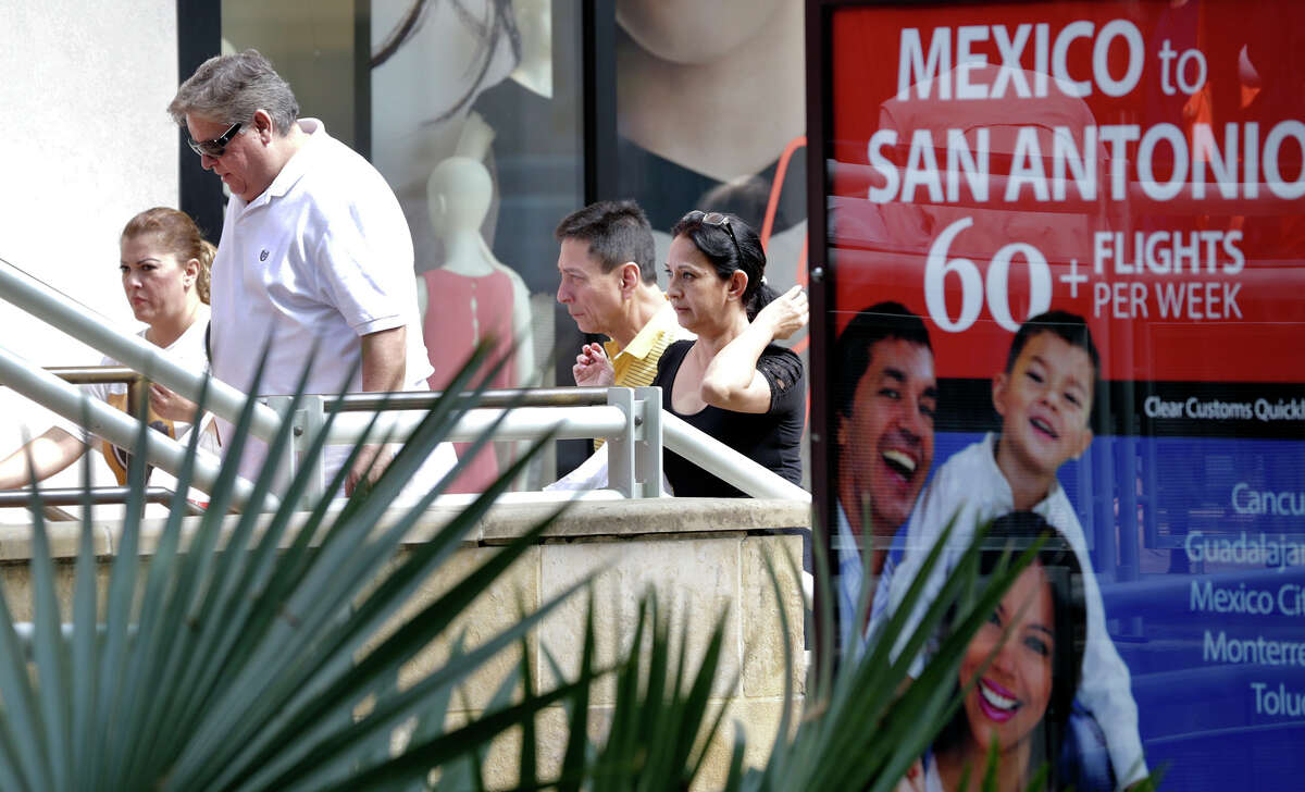 Mexican tourists flock to The Shops at La Cantera during holidays, including Semana Santa - or Holy Week.