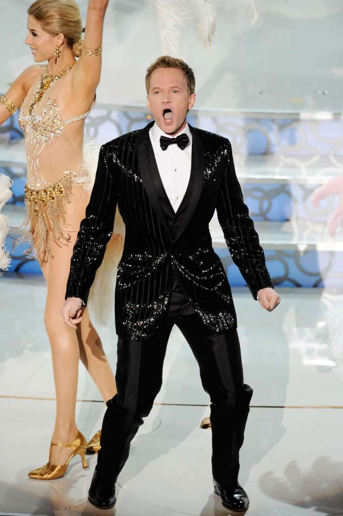 HOLLYWOOD - MARCH 07: Actor Neil Patrick Harris performs onstage during the 82nd Annual Academy Awards held at Kodak Theatre on March 7, 2010 in Hollywood, California. (Photo by Kevin Winter/Getty Images) *** Local Caption *** Neil Patrick Harris