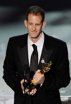 """HOLLYWOOD - MARCH 07:  Director Pete Docter accepts Best Animated Feature award for """"Up"""" onstage during the 82nd Annual Academy Awards held at Kodak Theatre on March 7, 2010 in Hollywood, California.  (Photo by Kevin Winter/Getty Images) *** Local Caption *** Pete Docter Photo: Kevin Winter, Getty Images / 2010 Getty Images"""