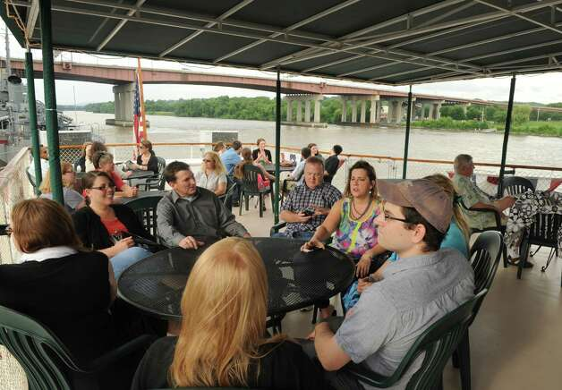Local First of the Capital Region sponsored a Dutch Apple Cruises river cruise for independent business owners on Tuesday July 2, 2013 in Albany, N.Y. (Michael P. Farrell/Times Union) Photo: Michael P. Farrell / 00022913A