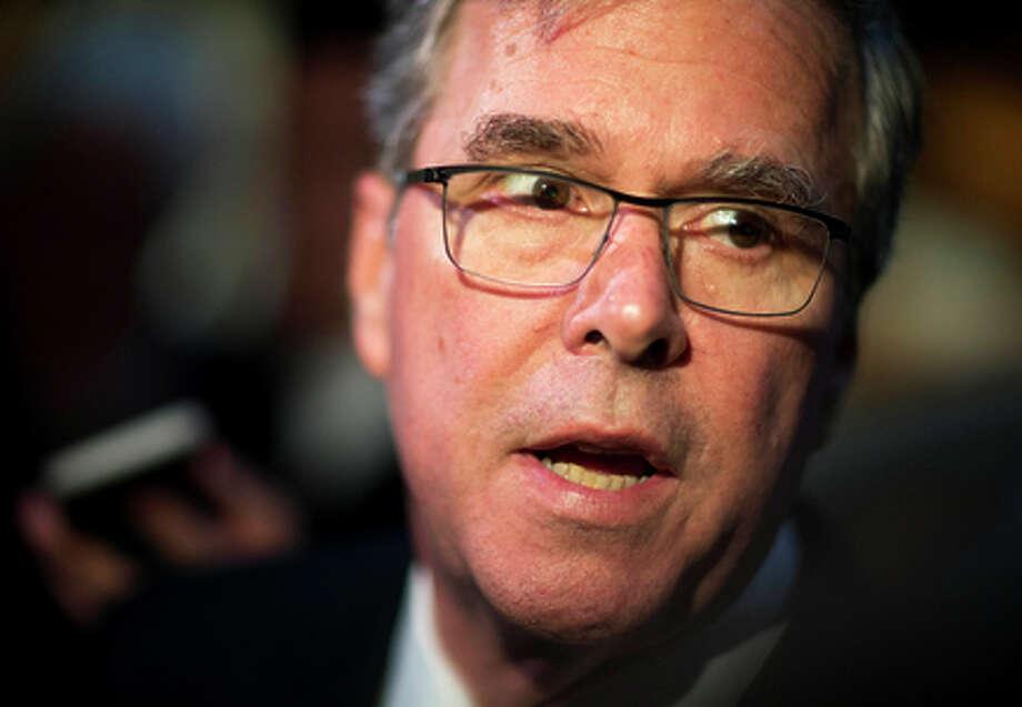 "Ex-Gov. Jeb Bush's drive is no ""shock-and-awe"" juggernaut. Photo: David Goldman / Associated Press / AP"