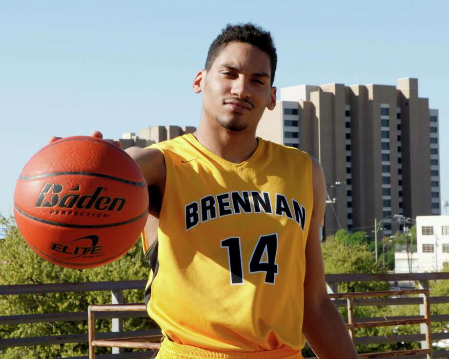 Jordan Murphy of Brennan was chosen for the 2015 Express-News All-Area basketball team and the player of the year. Photo: Cynthia Esparza /San Antonio Express-News / ©2015 San Antonio Express-News