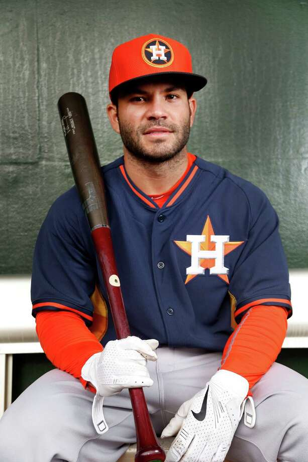 2B Jose Altuve is a star in the making with his bat after taking the batting title last season. Few hitters make contact like he does, but a repeat of his 2014 performance is a lot to ask. Photo: Karen Warren, Staff / © 2015 Houston Chronicle