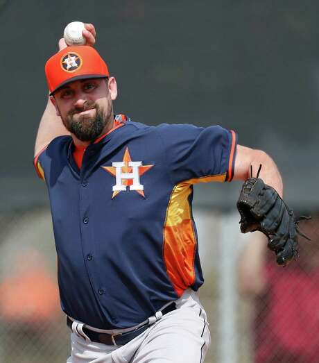 Pat Neshek earned his first All-Star recognition last season with the Cardinals as he posted a 7-2 record and 1.87 ERA. Photo: Karen Warren, Staff / © 2015 Houston Chronicle