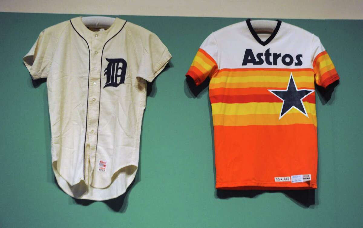 Baseball memorabilia is on display at The Albany Institute of History & Art on Wednesday, Feb. 4, 2015 in Albany, N.Y. The newest exhibition at the museum, Triple Play: Baseball at the Albany Institute, is set to open February 7. (Lori Van Buren / Times Union)