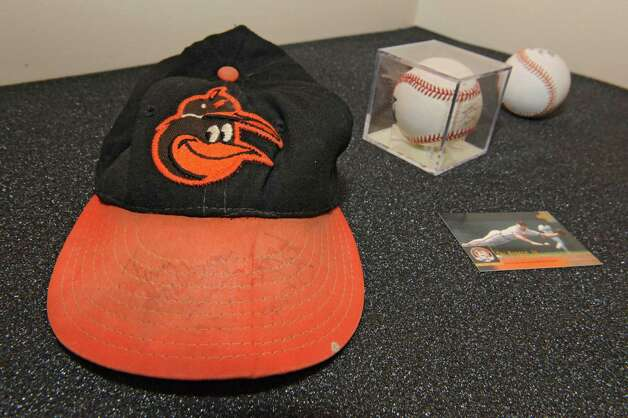 Baltimore Orioles memorabilia at The Albany Institute of History & Art on Wednesday, Feb. 4, 2015 in Albany, N.Y.   The newest exhibition at the museum, Triple Play: Baseball at the Albany Institute, is set to open February 7. (Lori Van Buren / Times Union) Photo: Lori Van Buren / 00030458A