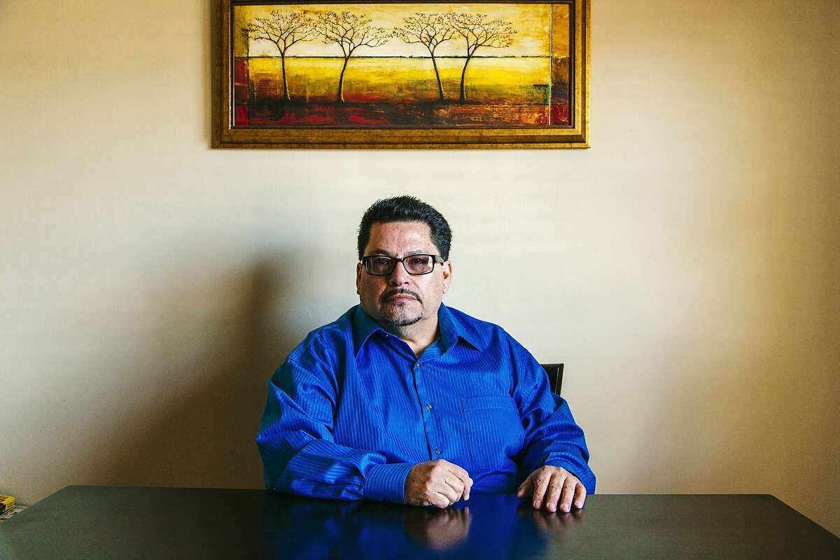 Richard Ortega, former CEC halfway house director for CEC, poses for a portrait at his home in San Bernardino, California, April 4, 2015. (Photo: Kendrick Brinson)