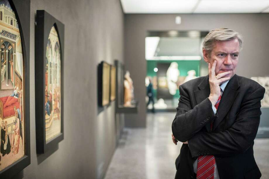 Hermann Arnhold is director of the Westphalian State Museum for Art and Cultural History in Münster, Germany. Some of its works could be sold to settle government debts.**EMBARGO: No electronic distribution, Web posting or street sales before SATURDAY 8:00 p.m. ET APRIL 4, 2015. No exceptions for any reasons. EMBARGO set by source.** Hermann Arnhold, director of the Westphalian State Museum for Art and Cultural History, at the museum in Munster, Germany, March 10, 2015. With government subsidies to public institutions being cut back, museums in countries like Britain, the Netherlands and Germany are auctioning art to make ends meet. (Joanna Nottebrock/The New York Times) Photo: Joanna Nottebrock /New York Times / NYTNS
