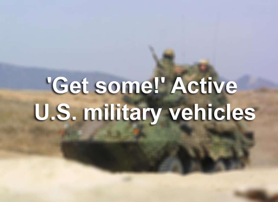 'Get some!' Active U.S. military vehicles Photo: ANDREW SILK, File Photo / AFP