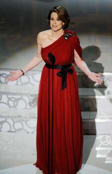 HOLLYWOOD - MARCH 07:  Actress Sigourney Weaver presents onstage during the 82nd Annual Academy Awards held at Kodak Theatre on March 7, 2010 in Hollywood, California.  (Photo by Kevin Winter/Getty Images) *** Local Caption *** Sigourney Weaver Photo: Kevin Winter, Getty Images / 2010 Getty Images
