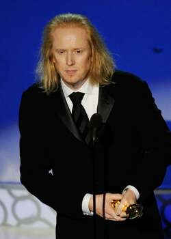 """HOLLYWOOD - MARCH 07:  Paul N.J. Ottosson accepts Best Sound Editing award for """"The Hurt Locker"""" onstage during the 82nd Annual Academy Awards held at Kodak Theatre on March 7, 2010 in Hollywood, California.  (Photo by Kevin Winter/Getty Images) *** Local Caption *** Paul N.J. Ottosson Photo: Kevin Winter, Getty Images / 2010 Getty Images"""