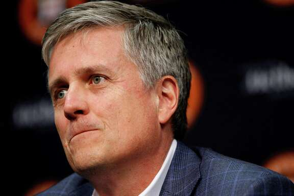 Jeff Luhnow left St. Louis to become the Astros' general manager in 2012.