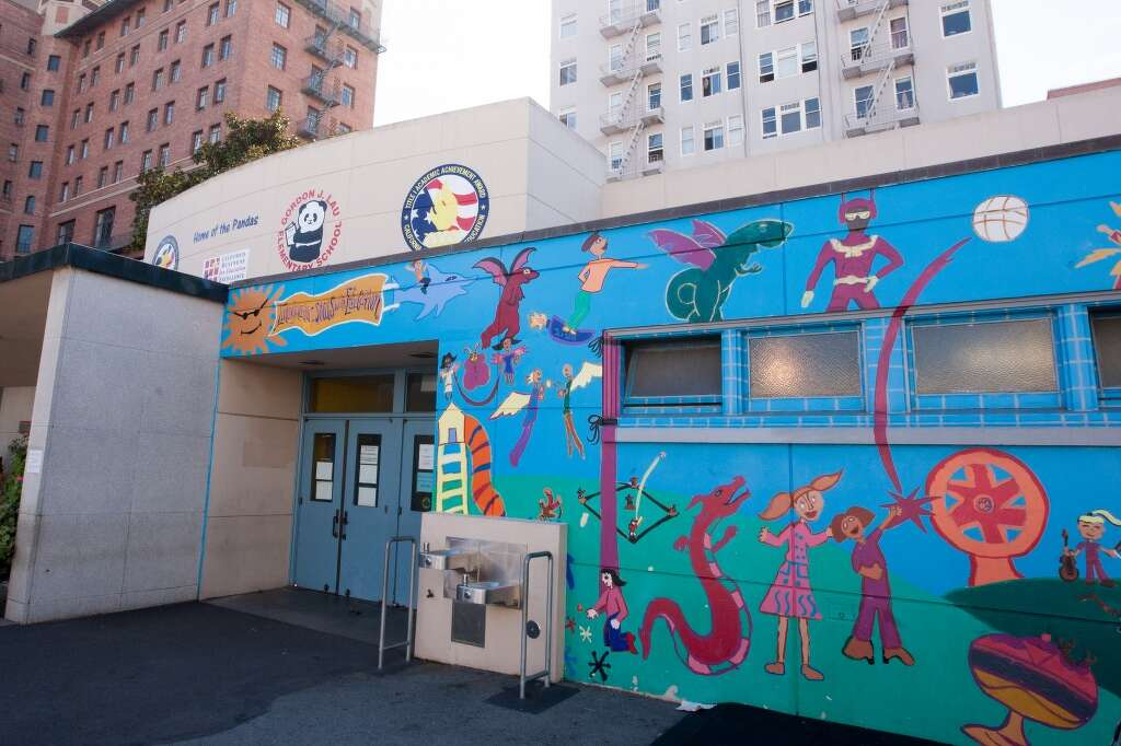 Gordon J. Lau Elementary School         Highlights:• Recipient of the 2016 California Department of Education Gold Ribbon Award, the Exemplary Arts Program Award and the Physical Activity & Nutrition Award - the only school in San Francisco to earn all three awards. It previously earned the 2014 California Distinguished Schools Award.  • Recently updated state-of-the-art computer lab and library, and a new playground. • Majority of teachers are longtime staff, with one teaching for 52 years at the school.   • Students learn different types of dance, including hip hop and traditional Chinese line dancing. The group performs in the Chinese New Year Parade, and has won awards.  Photo: Wright