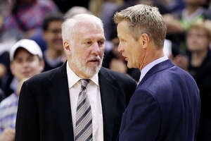 Spurs coach Gregg Popovich is 'envious' of Golden State Warriors - Photo