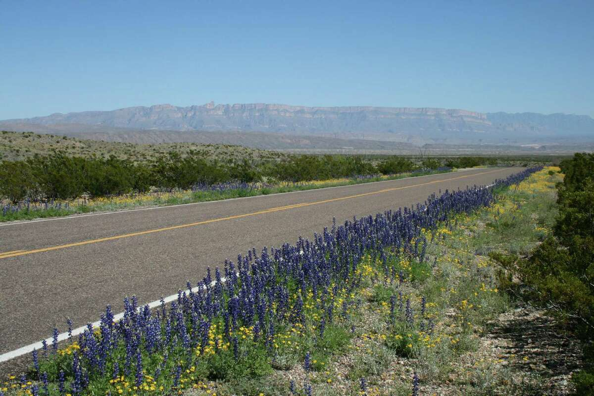 Big Bend National Park on the Boquillas Canyon road near Dug Out Wells looking east towards Sierra Del Carmen Mountains. Shared by Dale Neese.