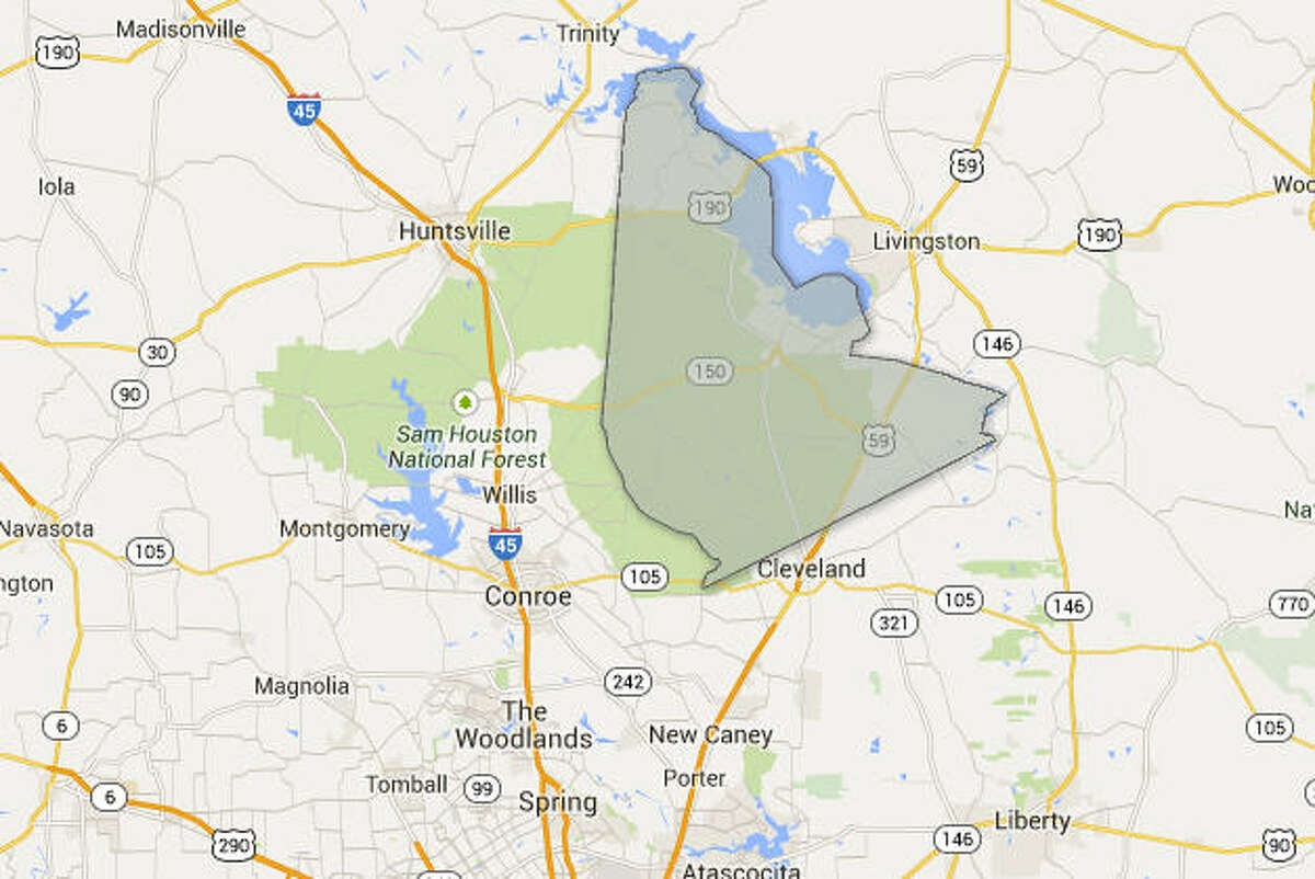 San Jacinto County Median Annual Property Tax: $894 (Source: Tax-Rates.org)