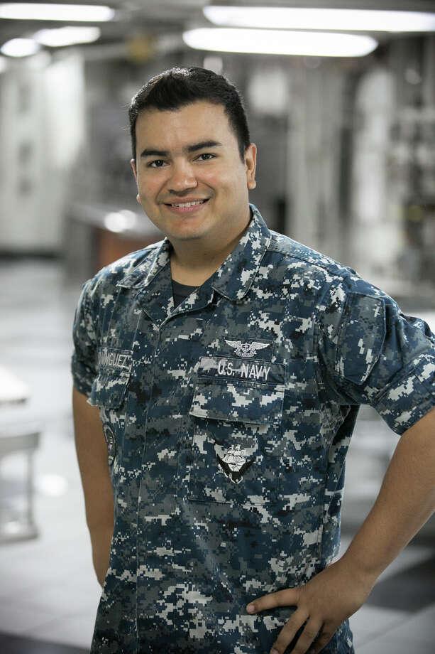 San Antonio native Felix Dominguez is an aviation ordnanceman. Photo: Courtesy Photo / 2015 G Man Studios 602.714.8287