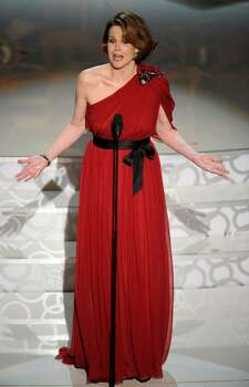 Sigourney Weaver presents the award for best achievement in art direction at the 82nd Academy Awards Sunday,  March 7, 2010, in the Hollywood section of Los Angeles. (AP Photo/Mark J. Terrill) Photo: Mark J. Terrill, ASSOCIATED PRESS / AP2010