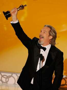 """HOLLYWOOD - MARCH 07:  Actor Jeff Bridges accepts Best Actor award for """"Crazy Heart"""" onstage during the 82nd Annual Academy Awards held at Kodak Theatre on March 7, 2010 in Hollywood, California.  (Photo by Kevin Winter/Getty Images) *** Local Caption *** Jeff Bridges Photo: Kevin Winter, Getty Images / 2010 Getty Images"""