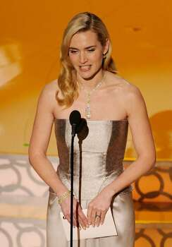 HOLLYWOOD - MARCH 07:  Actress Kate Winslet presents onstage during the 82nd Annual Academy Awards held at Kodak Theatre on March 7, 2010 in Hollywood, California.  (Photo by Kevin Winter/Getty Images) *** Local Caption *** Kate Winslet Photo: Kevin Winter, Getty Images / 2010 Getty Images