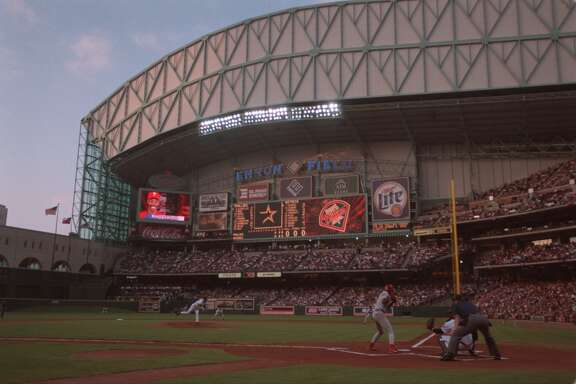 April 7, 2000: Phillies 4, Astros 1      Behind a pair of RBIs from Victoria native Ron Gant, the Phillies spoiled Houston's first outdoor baseball game since 1964.