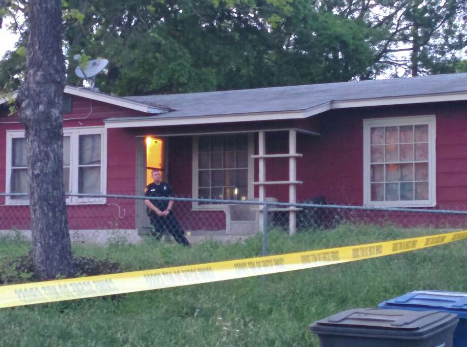 A woman who was found dead inside a home on the Southeast Side Sunday afternoon had been stabbed in the neck, the San Antonio Police Department.
