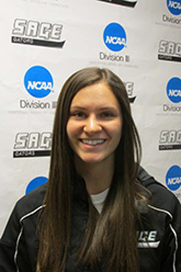 Bethlehem graduate Shirah Fudin of the Sage women's lacrosse team. (Sage College sports information)