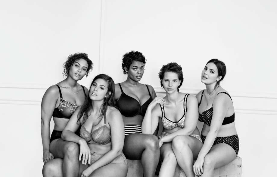 Lane Bryant's new #ImNoAngel campaign for the Cacique lingerie line. Photo: Lane Bryant