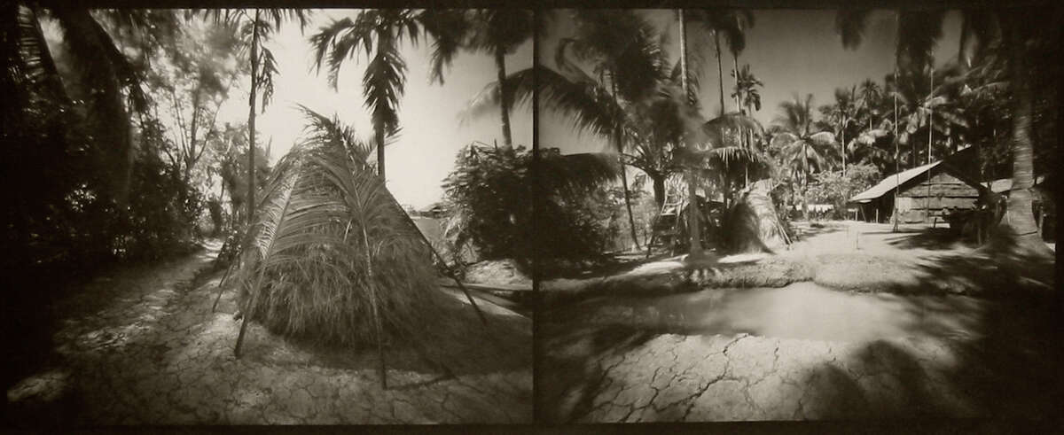"""""""Eden in the Mekong"""" is on view in """"Ghosts in the Landscape: Vietnam Revisited,"""" a photography exhibit by Craig J. Barber, at Fairfield University's Walsh Art Gallery through June 6."""