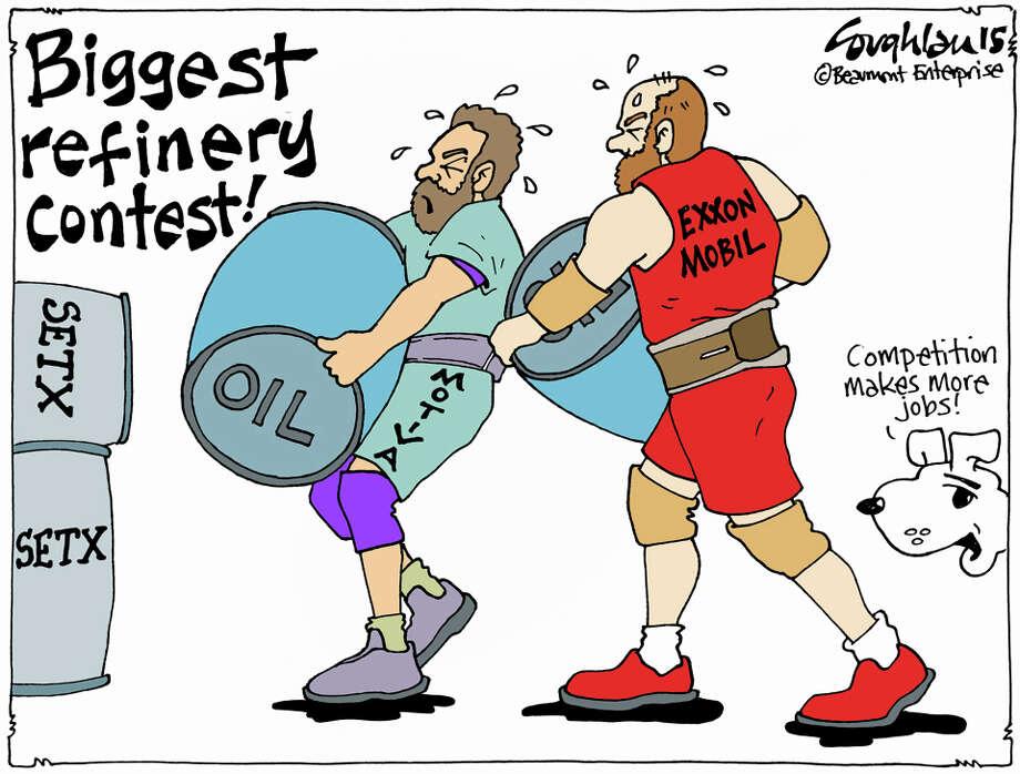 Crude contest