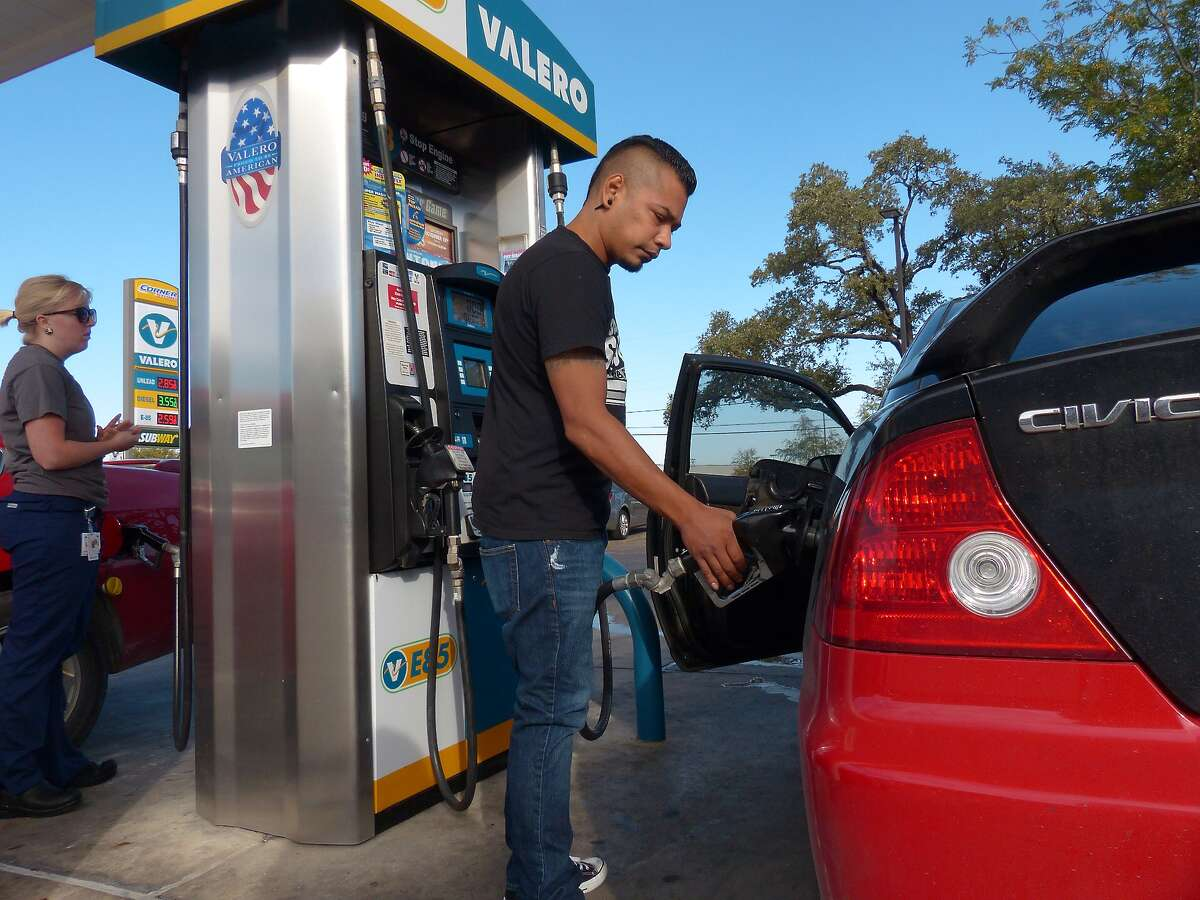 AAA said U.S. households are saving more than $100 per month on gasoline compared to last year. The average nationwide price for gasoline in March was $2.43 per gallon, the cheapest for the month in six years. In San Antonio, regular averaged $2.14 Monday, $1.15 less than the same time last year.