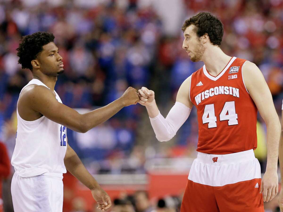 8. 2015 at Indianapolis: Kentucky (1), Duke (1), Wisconsin (1), Michigan State (7) Three No. 1 seeds - including Kentucky vying for the first undefeated season since Indiana in 1976 - made this a compelling Final Four. Wisconsin stunned Kentucky in the semifinals before falling to Houston native Justise Winslow and Duke as the Blue Devils claimed their fifth national title.