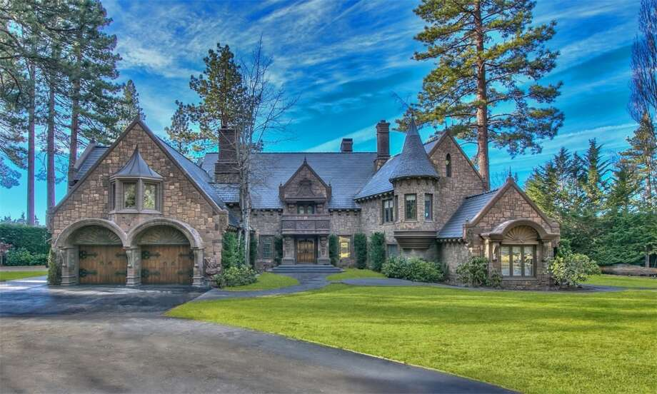 """The Castle on Lake Tahoe"" at 857 Lakeshore Blvd in Incline Village is listed for $26M. Click here for the listing. Photo: Sierra Sotheby's"