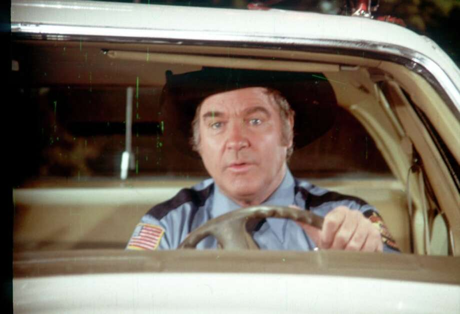 "James Best's official website has a large assortment of behind-the-scenes photos from the actor's time on the hit show ""The Dukes of Hazzard"" on which he played the bumbling Sheriff Rosco P. Coltrane. Best died this week at the age of 88 after a long illness, according to his family. Photo: JamesBest.com"