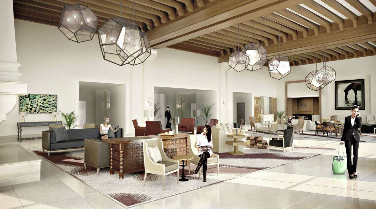 The new lobby at the La Cantera Hill Country Resort.