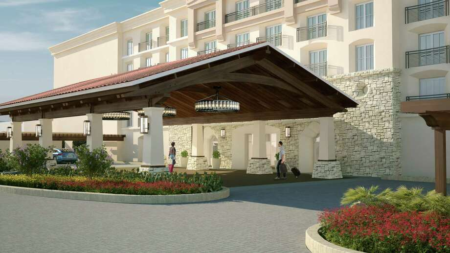 The Porte Cochere, or entrance, to the La Cantera Hill Country Resort. Photo: Courtesy, La Cantera Hill Country Resort