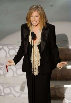 HOLLYWOOD - MARCH 07:  Singer/actress Barbra Streisand presents onstage during the 82nd Annual Academy Awards held at Kodak Theatre on March 7, 2010 in Hollywood, California.  (Photo by Kevin Winter/Getty Images) *** Local Caption *** Barbra Streisand Photo: Kevin Winter, Getty Images / 2010 Getty Images