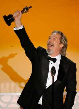 Jeff Bridges accepts the Oscar for best performance by an actor in a leading role for ?Crazy Heart? at the 82nd Academy Awards Sunday, March 7, 2010, in the Hollywood section of Los Angeles. (AP Photo/Mark J. Terrill) Photo: Mark J. Terrill, ASSOCIATED PRESS / AP2010