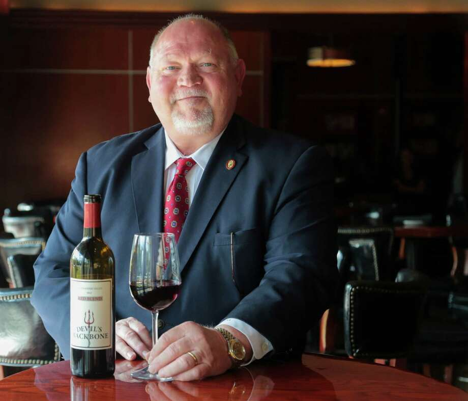 "Master Sommelier Guy Stout will serve as this year's ""Wine Wizard"" at The Woodlands Wine and Food Week. Photo: Billy Smith II, Staff / © 2015 Houston Chronicle"