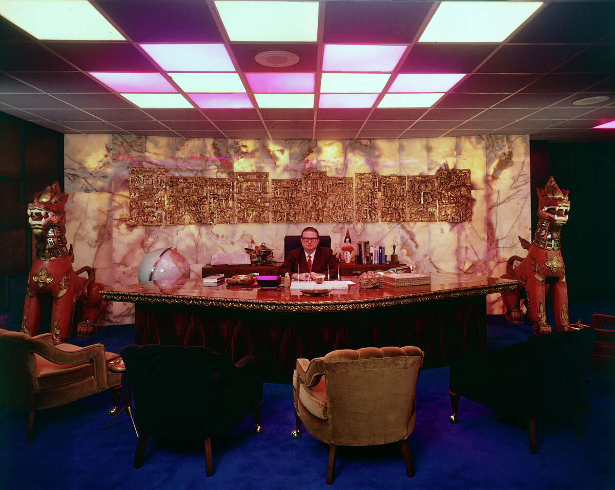 Judge Roy Hofheinz in his opulent office at the Houston Astrodome. (Photo by Mark Kauffman/The LIFE Images Collection/Getty Images)