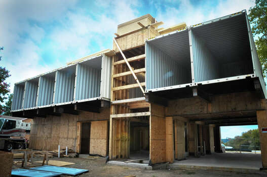 Go inside a dallas home made of shipping containers houston chronicle - Houston container homes ...