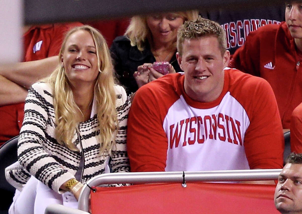 J.J. Watt wants a girlfriend - here's who might be a good fit ... Caroline Wozniacki The Texans star and tennis player were spotted together at the NCAA basketball final, setting Twitter abuzz about whether they're an item. See more picks ...
